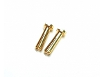 Team Powers 4mm Bullet Connector T-Type Gold Male
