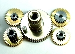 Team Powers DS-0909L Servo Replacement Gears Kit